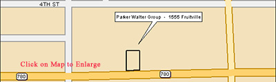 Map to Parker Walter Group in Sarasota, FL